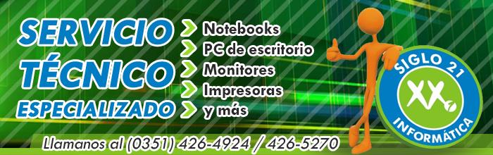 Servicio Técnico en reparación y actualización de PC